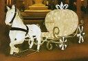 ★クリスマスイルミネーション★LEDクリスタルグロー カボチャの馬車