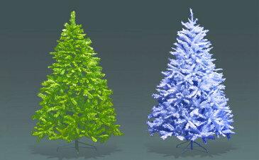★クリスマスイルミネーション★ビッグヌードツリー3m(色:グリーン、ホワイト)