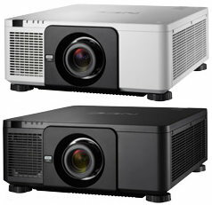業務用レーザー光源大型プロジェクター NECディスプレイソリューションズ NP-PX803UL-WHJD、BKJD(レンズ別売) WUXGA(1920×1200)リアル対応