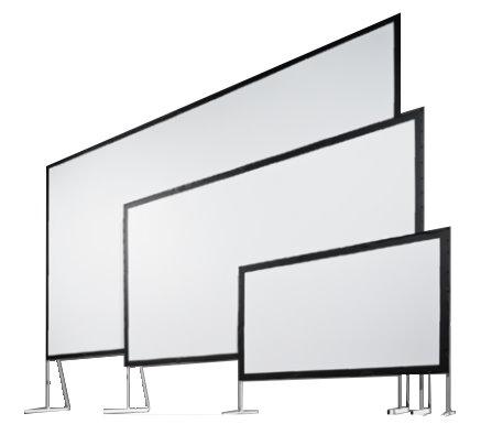 組立て式大型スクリーン スタンフル モノクリップ32 MBCR-100 (4:3)100インチ