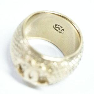 シャネルリングA96127指輪ココCCゴールド#52紙袋付き