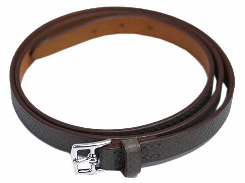 HERMES Leather Bracelet H066150CK8F MINI ETRIVIE...