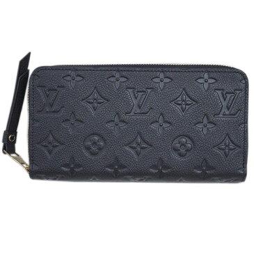 ルイヴィトン 財布 M61864 ラウンドファスナー長財布 12枚カード モノグラム・アンプラント ノワール ジッピー・ウォレット 専用箱付き キャッシュレスで5%還元!