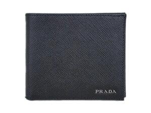buy popular 79ea7 e304b プラダ(PRADA) 財布 メンズ二つ折り財布 - 価格.com