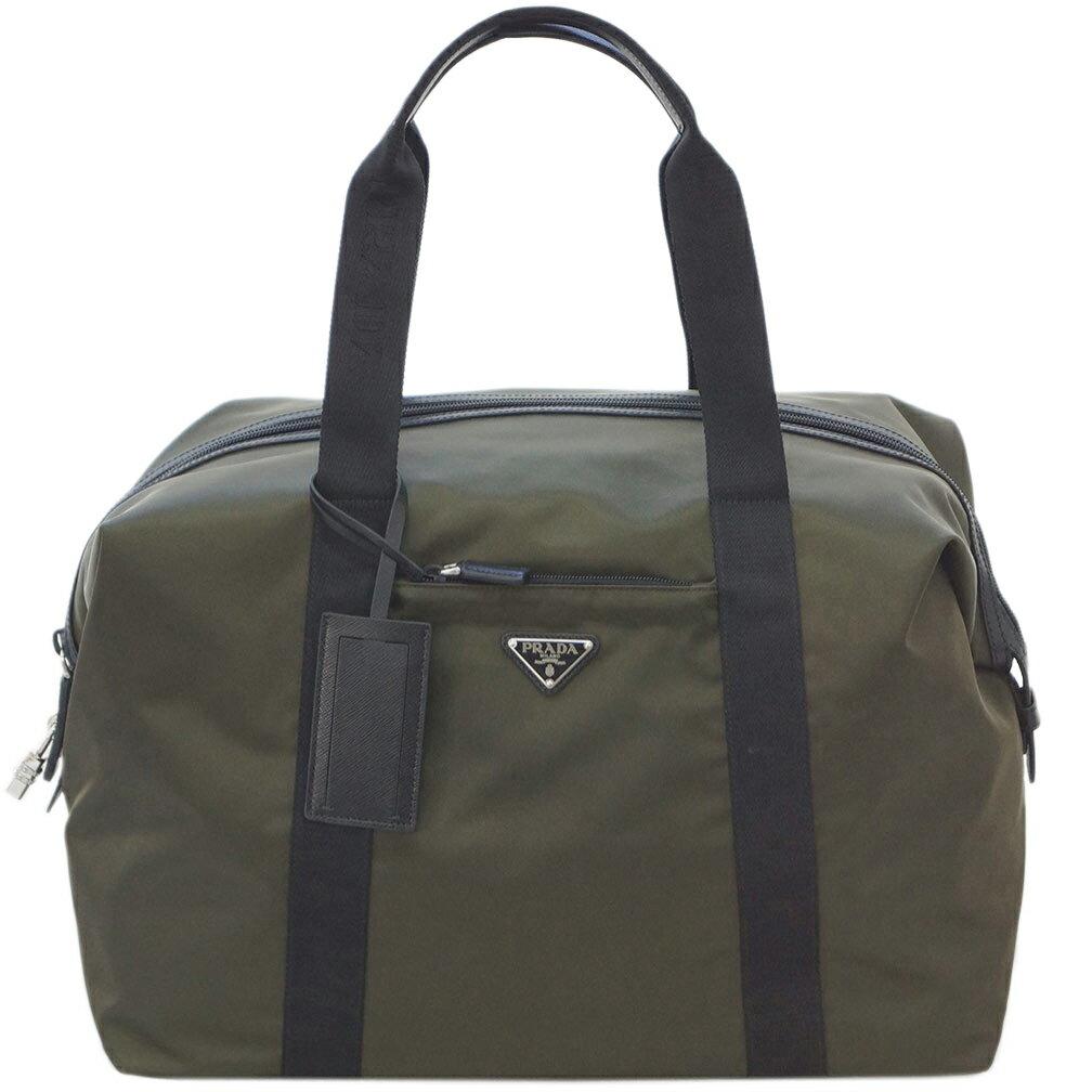 男女兼用バッグ, ボストンバッグ 3,000PRADA 2VC796 TESSUTOSAFFIAN MIMETICO R3731
