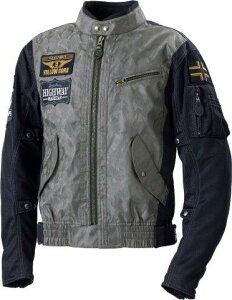 あす楽 イエローコーン/YeLLOW CORN コンビメッシュジャケット メンズ/迷彩 ブラックカモ 3Lサイズ YB-0103