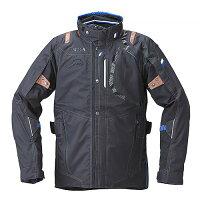 YAF53K【ブラック】【3Lサイズ】Motoウィンターツーリングジャケットヤマハ×クシタニ【防水】【脱着式防寒インナー装備】【ストームガード】【肩・肘・背中プロテクター標準装備】