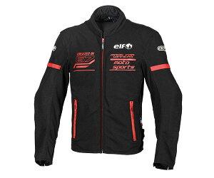 エルフ/elf フレッドメッシュジャケット バイク/メンズ/春夏 レッド Mサイズ EJ-S102