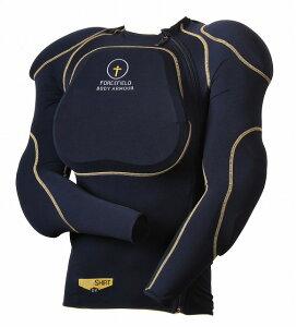スポーツ シャツ L2【Lサイズ】インナープロテクターシャツ フォースフィールド【CEレベル2】【肩・肘・背中・胸】