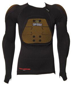 プロ シャツ L2【Sサイズ】インナープロテクターシャツ フォースフィールド【CEレベル2】【肩・肘・背中・胸】