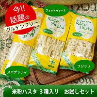 米粉パスタ3種入りお試しセット(テスト)