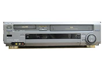 【中古】SONY Hi8+VHSビデオデッキ ソニー WV-TW1 リモコン付き 三か月保証 (21873)