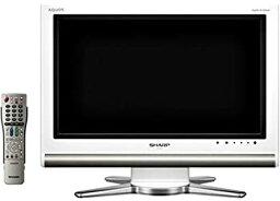 【中古】シャープ 20V型 液晶 テレビ AQUOS LC-20D10W ハイビジョン 2007年モデル