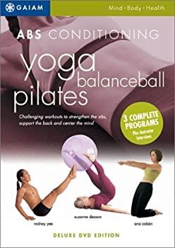 【中古】ABS Conditioning: Yoga Balance Ball Pilates (3 Complete Programs) by Gaiam