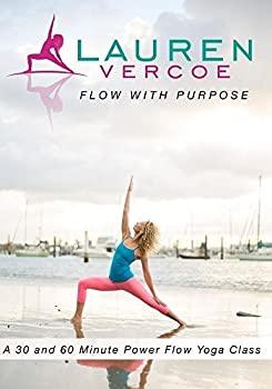【中古】Lauren Vercoe 'Flow With Purpose' Yoga DVD