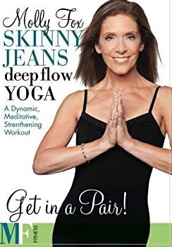 【中古】Skinny Jeans Deep Flow Yoga DVD - Molly Fox - Region 0 Worldwide by Monica Hoekstra