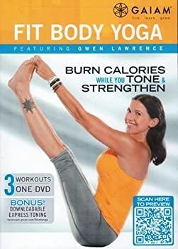 【中古】Gaiam Fit Body Yoga DVD - Gwen Lawrence - region 0 worldwide by Gwen Lawrence