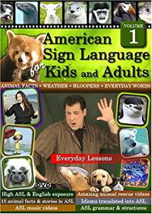 【中古】American Sign Language for Kids & Adults 1 [DVD]