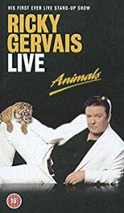 【中古】Ricky Gervais Live: Animals [VHS]