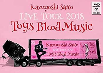 【中古】Kazuyoshi Saito LIVE TOUR 2018 Toys Blood Music Live at 山梨コラニー文化ホール2018.06.02 [Blu-ray]