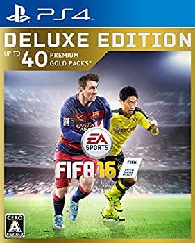 【中古】FIFA 16 DELUXE EEDITION【限定版特典】:Ultimate Team:40プレミアムゴールドパック ダウンロードコード、メッシ FUT 5試合レンタル ダウンロー
