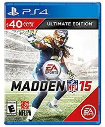 【中古】Madden NFL 15 Ultimate Edition (輸入版:北米) - PS4
