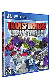 【中古】Transformers Devastation (輸入版:北米) - PS4