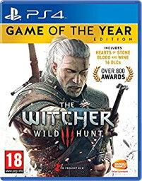 【中古】The Witcher 3 Game of the Year Edition (PS4) (輸入版)