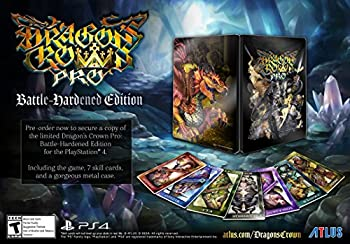 Nintendo 3DS・2DS, ソフト Dragons Crown Pro Battle Hardened Edition (:) - PS4