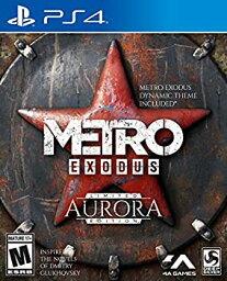 【中古】Metro Exodus: Aurora Limited Edition PS4 - Imported from USA.