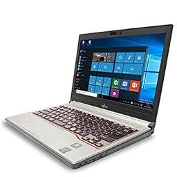 【中古】ノートパソコン 中古 富士通 LIFEBOOK E734/H Celeron Dual-Core 4GBメモリ 13.3インチワイド Windows10 MicrosoftOffice2007
