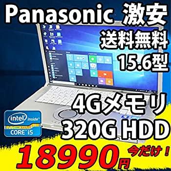 パソコン, ノートPC  15.6 CF-B11AWDCS Win10 Pro i5-3340M 4GB 320G Kingsoft Office 2016