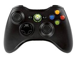 【中古】Xbox 360 ワイヤレス コントローラー (リキッド ブラック)