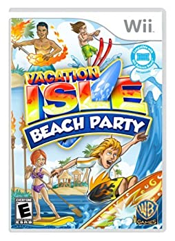 Nintendo 3DS・2DS, ソフト Vacation Isle: Beach Party - Nintendo Wii