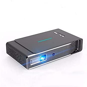 【中古】プロジェクター DLPプロジェクター1280x800dpi 3800ルーメンの3DフルHD 1080Pワイヤレス同じ画面LEDプロジェクターホームシアター2ギガバイト16