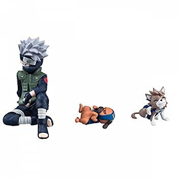 【中古】G.E.M.シリーズ 外伝! NARUTO-ナルト- 疾風伝 はたけカカシと忍犬セット