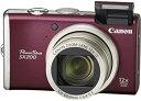 【中古】Canon デジタルカメラ PowerShot (パワーショット) SX200 IS レッド PSSX200IS(RE)