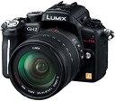 【中古】パナソニック デジタル一眼カメラ ルミックス GH2 レンズキット 高倍率ズームレンズ付属 ブラック DMC-GH2H-K