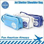 【パンナム航空】【正規品】Jet Shetter Shoulder Bag ショルダーバッグ 肩掛けバッグ 斜めがけバッグ 斜め掛けバッグ メンズ レディース ユニセックス バッグ PAN AMERICAN AIRWAYS パン アメリカン航空 オールドアメリカン 60'S アメリカン雑貨 レトロ雑貨(CH-PAN-4SP07)