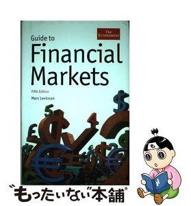【中古】 Guide to Financial Markets / Marc Levinson / Bloomberg Press [ハードカバー]【メール便送料無料】【あす楽対応】