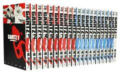 2000円以上で送料無料。通常24時間以内発送【漫画全巻】【中古】GANTZ(ガンツ) <1〜37巻完...