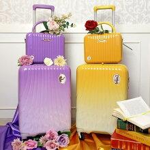 スーツケースジッパーディズニープリンセスシリーズSサイズ機内持ち込みレディース女性用LUN2214-50