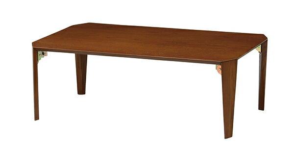 送料無料 折りたたみテーブル 幅90x60cm 折れ脚 折り畳み 軽い コンパクト 座卓 センターテーブル ローテーブル リビングテーブル 机 木製 ちゃぶ台 おしゃれ モダン シンプル