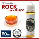 【E-リキッド】Frisco Vapor / ROCK ピーチティー 【60ml】【電子タバコ リキッド】