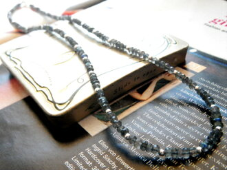 Natural stone with a ■ chains ■ カットラブラド light &Silver consolidated chain Labradorite necklace ラブラドライトネックレス entertainers purveyor mens Womens accessories necklace silver Silver 925 silver silver925 10P02jun13