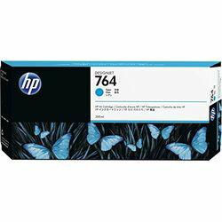 HP764_インクカートリッジ_シアン_300ml_C1Q13A