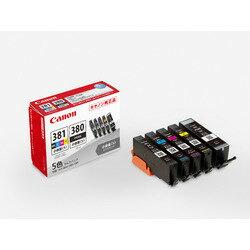キヤノン インクタンク BCI-381s+380s/5MP(2344C003) 目安在庫=○