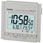 カシオ計算機(CASIO) 電波置き時計 チタニウムシルバー(DQD-705J-8JF) メーカー在庫品