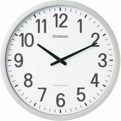キングジム 電波掛時計 ザラージ GDK-001 取り寄せ商品
