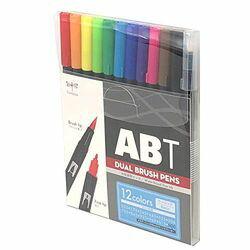 トンボ鉛筆 ABT多色セット12色ベーシック(AB-T12CBA) 取り寄せ商品